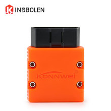 Super MINI ELM327 KONNWEI KW902 Bluetooth V1.5 OBD/OBDII Code Reader ELM 327 Diagnostic Tool Works on Android PC 16Pin kw902(China)