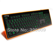 background lighting keyboard game keyboard USB Wired LED Computer Gaming Keyboard drop Shipping 100% Original Genuine 6050