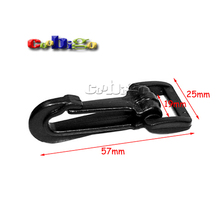 "10pcs Pack 3/4"" Plastic Snap Hooks Rocker Style For Backpack Strap Webbing 19mm #FLC099-E"