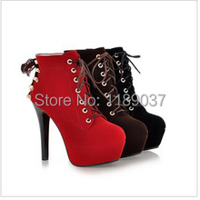 2016 new arrival during autumn and winter sexy martin boots&  European and American women wedge boots& waterproof plush boots.