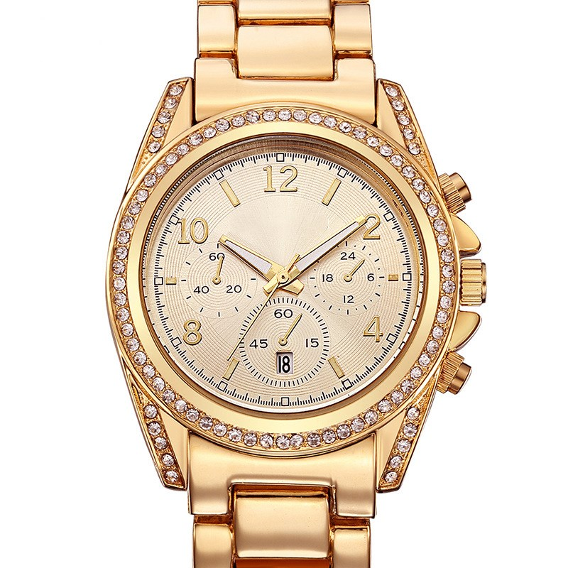 Casual Fashion Elegant Mysterious Quartz Watch Calendar Display Women Clock Lady Wristwatch Waterproof Banquet Available Gift<br>