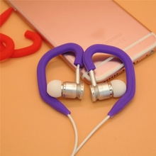 1 Pair Silicone Ear Hooks Earphones Headphone Running Sports Fitness On Ear Earpiece Hook Cover Case Ear Protector