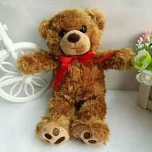 BEAR 1PC 23CM teddy Brown Bear Plush Toys Stuffed Animals New Year children Gift Valentine Gift Children toy soft toys kids toys