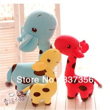 60cm Large Giraffe Plush Doll Lovely Creative Giraffe Hold Pillow Doll Birthday Gifts Free shipping