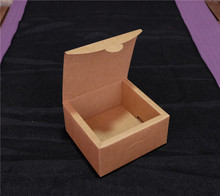 Free Shipping Kraft Paper Gift Box Soap Craft Jewel Cookies Tea Packing Cardboard Boxes 11*11*6cm