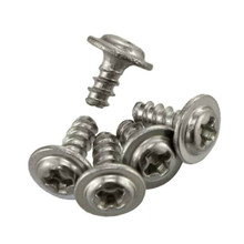 304 Stainless Steel Round Head Self Tapping Screw With Pad Stabilizer M4*16