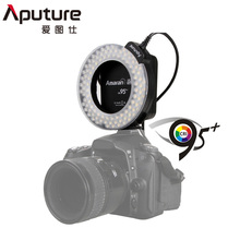 Aputure Amaran Halo HN100 CRI 95+ LED Ring Flash Light for Nikon D7100 D7000 D5200 D5100 D800E D800 D700 D600 D90 Camera(China)