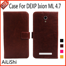 AiLiShi Flip Leather Case For DEXP Ixion ML 4.7 Case New Arrive Protective Cover Phone Bag Wallet Accessory In Stock !
