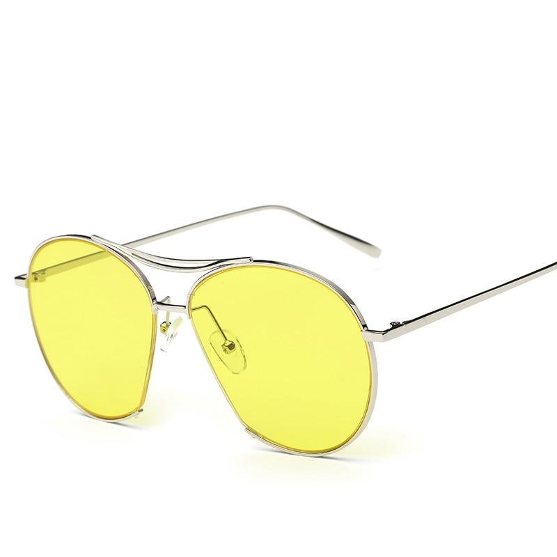 DIMSHOW Women Bang Fashion Sunglasses Men Classic Brand Designer Sunglasses Vintage Twin Beam Metal Frame Glasses<br><br>Aliexpress