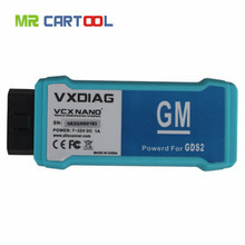 2016 New Recommend USB Version VXDIAG VCX NANO for GM/OPEL GDS2 Diagnostic Tool better than Tech2 Scanner fast and free ship