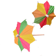 144pcs Paper Cocktail Parasols Umbrellas drinks picks wedding Event Party Supplies Holidays sticks party picks artwork toothpick
