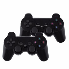 2pcs 2.4G USB Wireless Dual Vibration Gamepad Controller Joystick With 256 level 3D Analog Stick For PC Laptop hot selling(China)