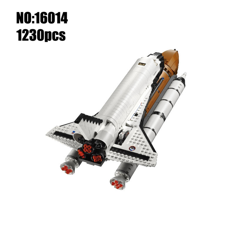 Factory Lepin Blocks Expedition Spaceship DIY Building Toys space shuttle Model Toy Kids Gifts Children Educational Toys 16014<br>