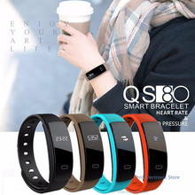 QS80 Heart Rate Monitor Smart Band Blood Pressure Monitor Smart Wristband Fitness Tracker Bracelet for IOS Android