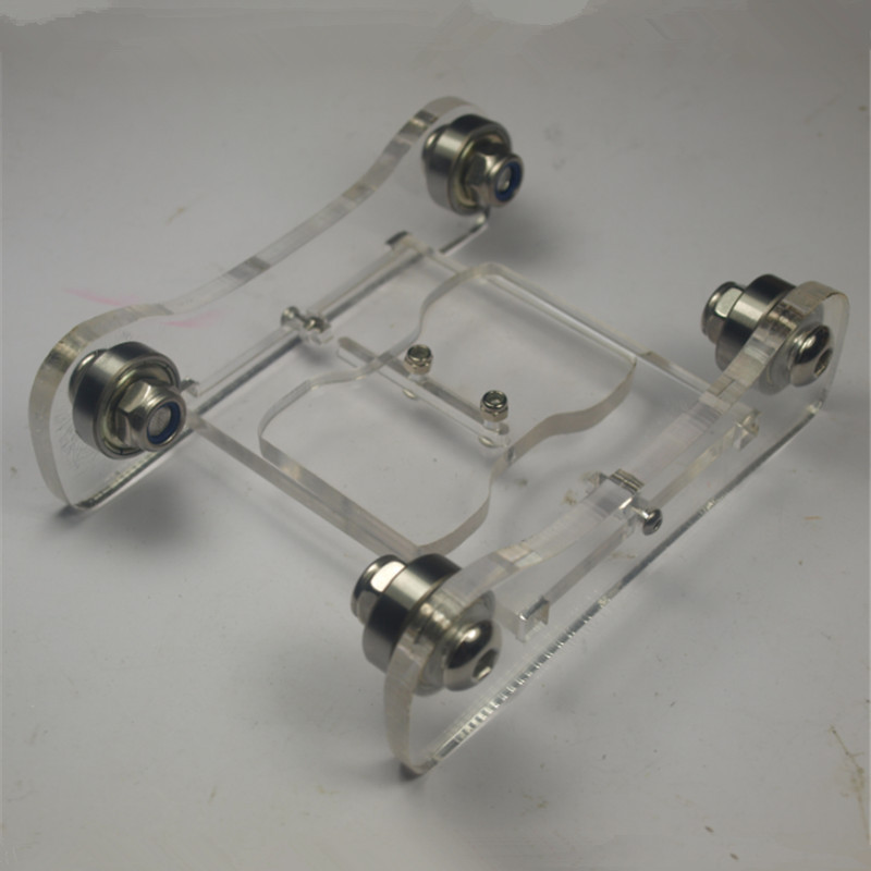 Reprap 3 D printer parts DIY arylic Printrbot Adjustable Spool Coaster 3 D printer filament holder spool holder<br><br>Aliexpress