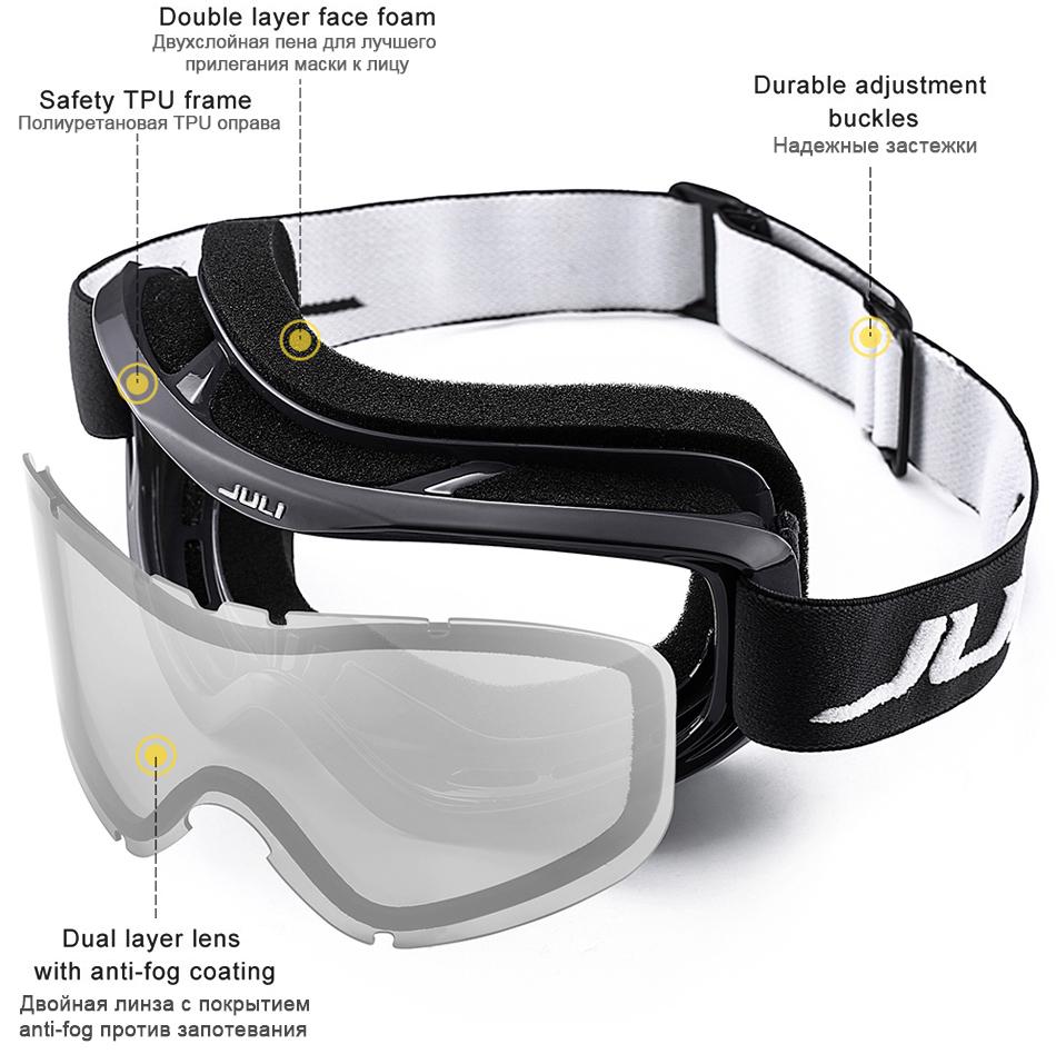 snowmobile goggles over glasses