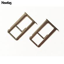 New OEM For Huawei P9 Plus SIM Card Slot SD Card Tray Holder Adapter Single Sim Mobile Phone Cable(China)