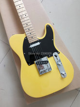 Hot sale Chinese tl electric guitar,yellow color,shipping free tele guitar,22 fret limited issue classic 53 tl guitar(China)