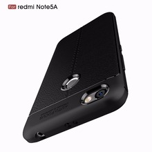 Buy Luxury Brand Shockproof Armor Cover Xiaomi Redmi Note 5A Case Soft Leather Carbon Fiber Ultra Slim TPU Full Protection Coque for $2.79 in AliExpress store