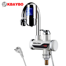 3000W Instant electric Water Heater Tap Kitchen faucet water filter 2 kinds of outlet mode can be consumed directly(China)
