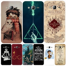 Marauders Map Harry Potter DEATHLY HALLOW QOUTES cover phone case for Samsung Galaxy J1 J2 J3 J5 J7 MINI ACE 2017 2016 2015