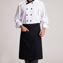 Brief Kitchen Chef Apron Half-length Long Waist Bust Apron Catering Waiters Uniform Hot Sale(China)
