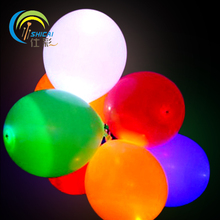 5pcs Birthday LED Flashing Luminous Glowing Balloon Thickening Colorful Ball Christmas Wedding Party Decoration Light Toy