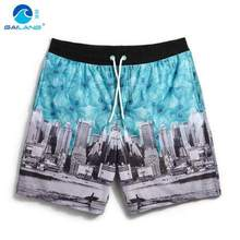 GL brand high quality men beach short board male water sport surf shorts mens running swimming quick dry plus size loose short