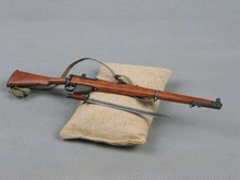 "1/6 Scale Weapons Gun Model WWII Lee Enfield Rifle Toys For 12"" Action Figure Soldier Body Accessory(China)"