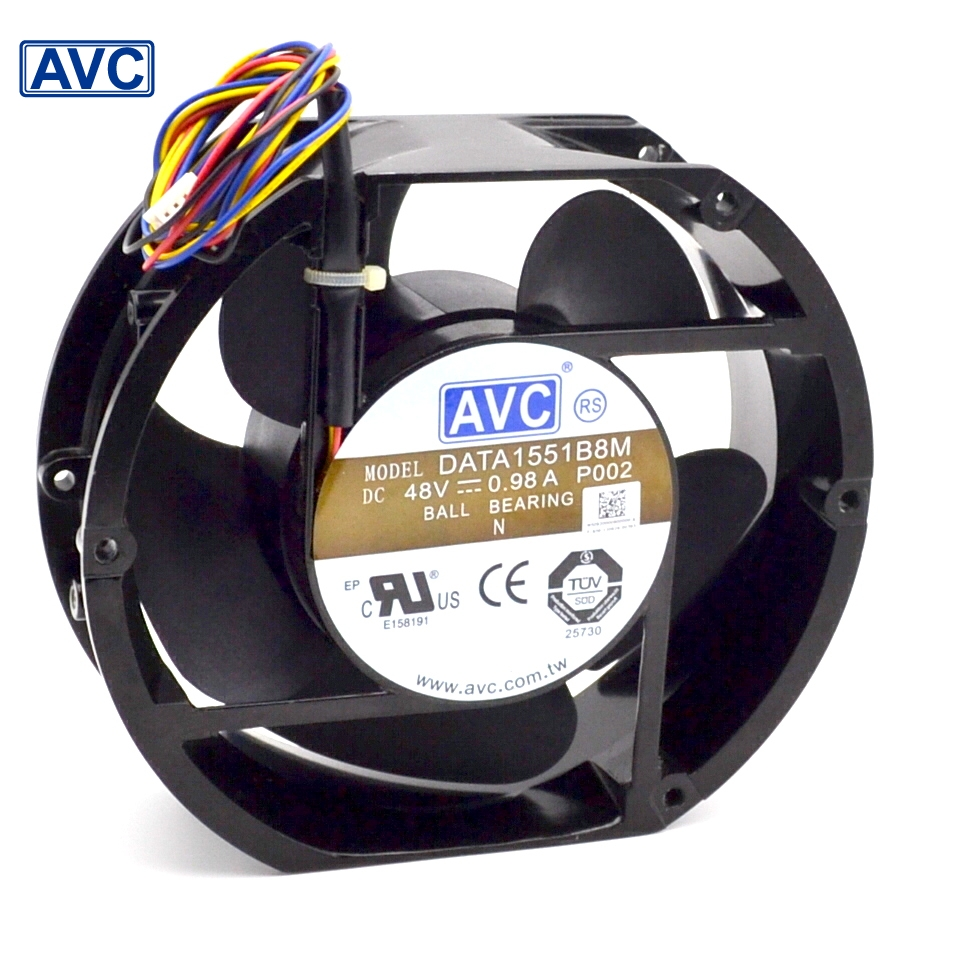AVC New Full Metal Original DATA1551B8M 17050 17CM 48V 0.98A IPC wind capacity  170*170*50mm<br>