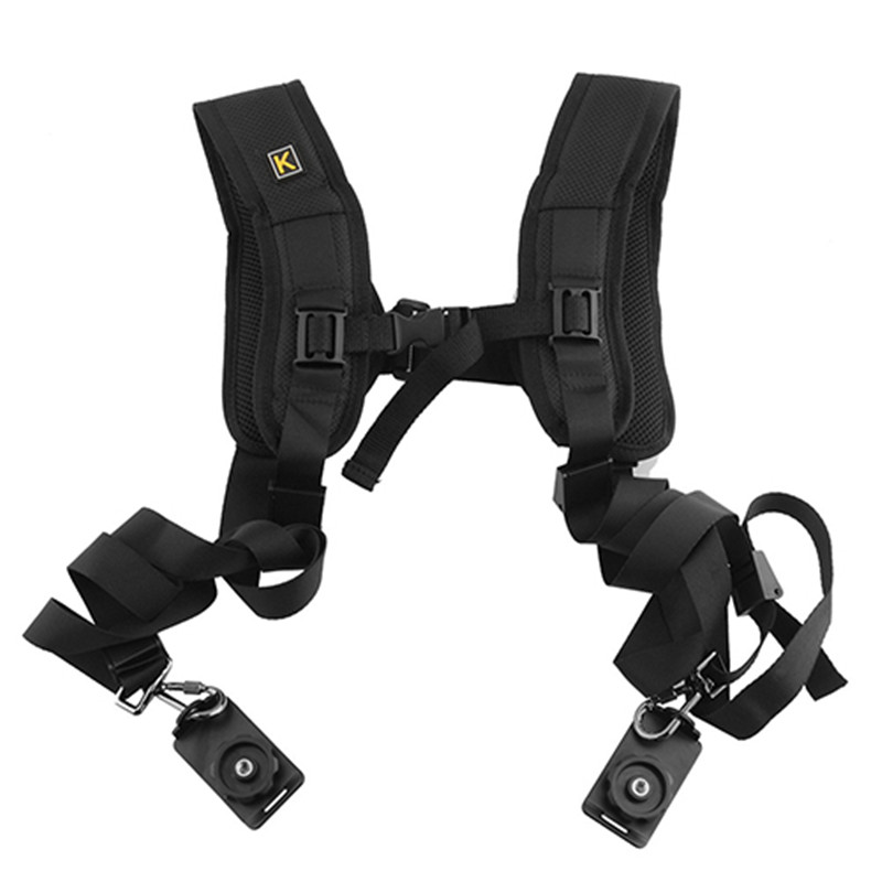 Double-Dual-Shoulder-Camera-Neck-Strap-Quick-Release-for-Digital-SLR-DSLR-Camera (1)