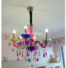 Free Shipping Crystal Chandelier Bohemia Chandelier lustres de cristal Decoration Tiffany Pendants and Chandeliers Home Lighting(China)