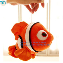 OHMETOY Finding Nemo Plush Doll Clownfish Fish Animals Stuffed Toys 25-65cm Baby Dolls Birthday Gift Brinquedos Juguetes