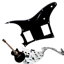 1PC 3Ply Guitar Pickguard Scratch Plate For Ibanez GRX20Z Parts Black Guitar Parts