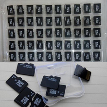 50 sets a lot 128MB 256MB 512MB 1GB 2GB 4GB 8GB TF memory card Micro SD card microSD with adapter