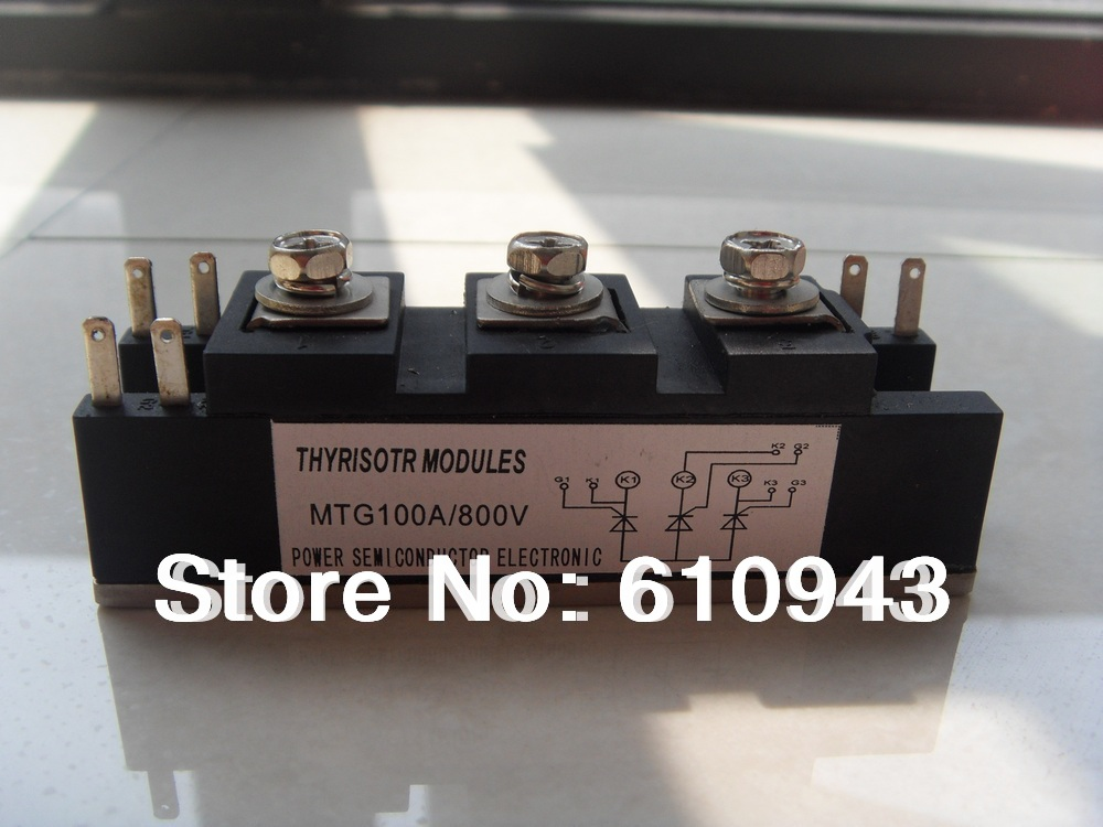 MTG100A 600V thyristor module (non-insulation type, special for welder)<br>