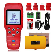 Auto Key Programmer Immobilizer EEPROM Adapter Odometer Correction OBD2 Code Reader Automotive Scanner Tool OBDSTAR X100 PRO(China)