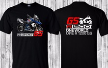 100% Cotton Short Sleeve Design T-Shirt R 1200Gs Lc Rally Brand New High Quality Tee Shirts(China)