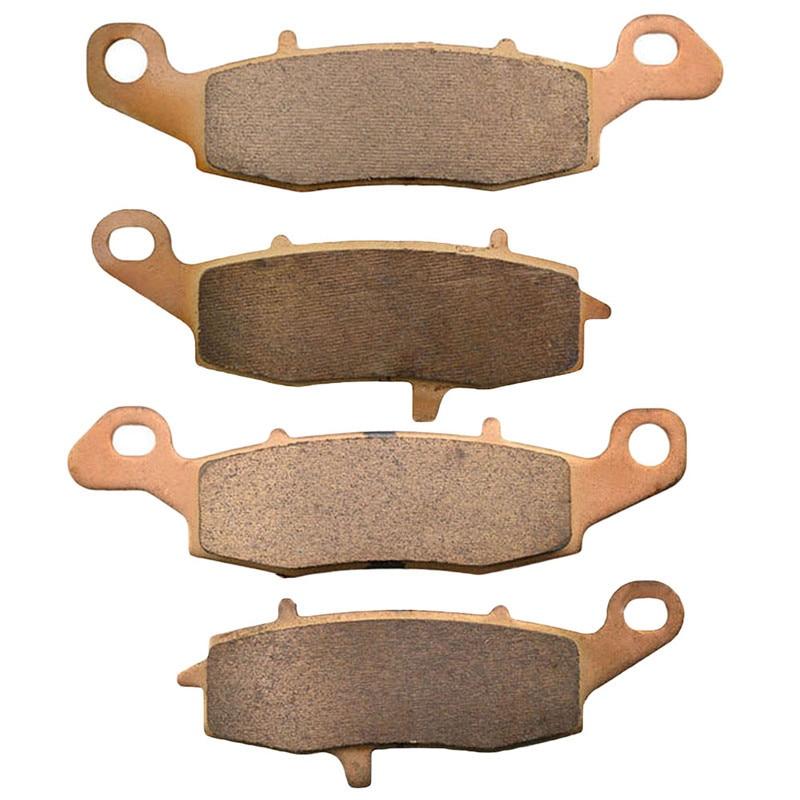 Motorcycle Parts Copper Based Sintered Motor Front Brake Pads For Suzuki DL650 DL 650 2004-2009 Brake Disk<br>