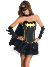 Fancy Dress Sexy Batman Costume For Women Halloween Batman Costumes Sexy Costume Dress & Eyeshade & Cloak & Gloves
