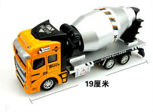 Cement Mixer Miniature Trucks Toys for Children Gift, Fashion Construction Vehicles Kids Toys New Year Christmas Gift Toy(China)