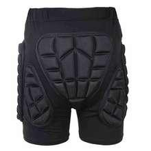 Hot! Skiing Skateboarding Shorts Overland Racing Armor Pads Hips Legs Protective Shorts Ride Skateboarding Equipment Hips Padded(China)