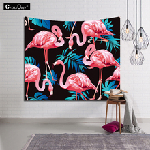 New Indian Mandala FlamingoTapestry Hippie Home Decor Wall Hanging Boho Beach Throw Towel Yoga Mat Bedspread Table Cloth 229*150(China)