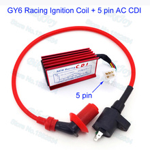 Racing Ignition Coil 5 pin AC CDI For XR CRF 50 Dirt Pit Bike 110cc 125cc Engine GY6