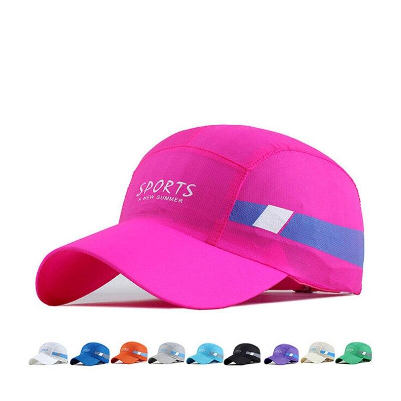 Women Snapback Quick Dry Portable Folding Sun Hat Men Fishing Hat Waterproof  Breathable Mesh Chapeu Casual Sports  Baseball Cap<br><br>Aliexpress