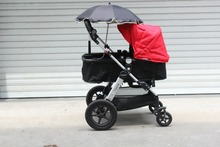 Baby Stroller Pushchair Pram Umbrella Parasol Baby Stroller Accessories Children Toddler Stroller Adjustable Umbrella Raincover