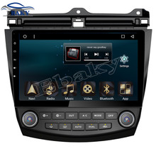 NaviTopia 10.1inch 1024*600 32G 2GB RAM Quad Core Android 6.0 Car DVD Radio for Honda Accord 7 2004 2005 2006 with GPS/wifi/maps(China)