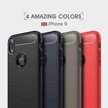 Phone Case iPhone XS Max Case Luxury Carbon Fiber Soft Case iPhone XR Cover Coque IPhone 6 7 8 6S Plus 7Plus X Coque