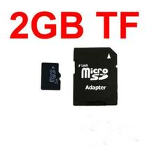 Good quality Original New 2GB MicroSD Micro SD Transflash card 2 GB adapter Memory Cards