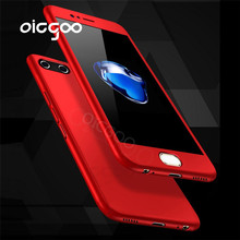 Oicgoo Case Cover For Huawei P10 Plus 360 Degree Front Back Full Body Protective Cover For Huawei P10 P10 Lite Hard Phone Case